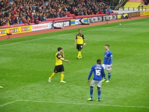 Forestieri and Nugent share a joke