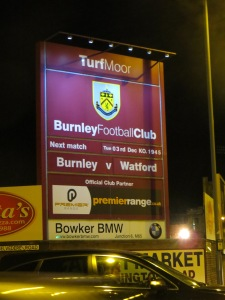 Welcome to Burnley