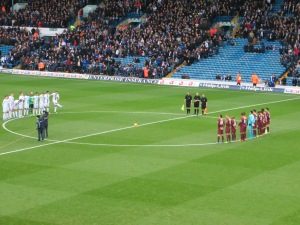 A minute's silence for Mandela or Bremner!