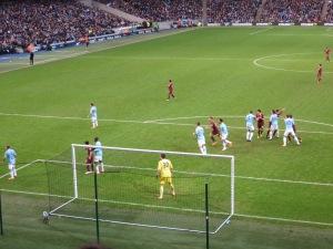 A second half corner