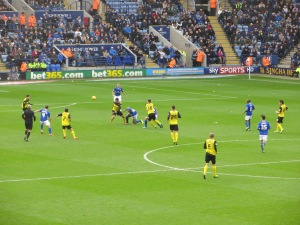 Watford on the attack