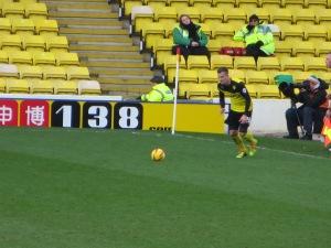 Tozser takes a free kick