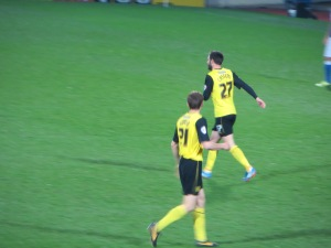 Cassetti after scoring the first goal (I was so thrilled I forgot to get my camera out)