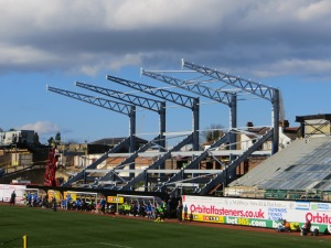 Progress of the new East Stand