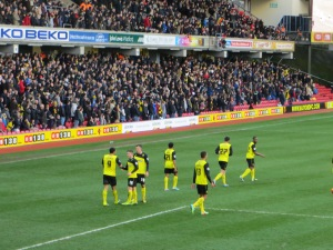 Deeney congratulated on his second goal