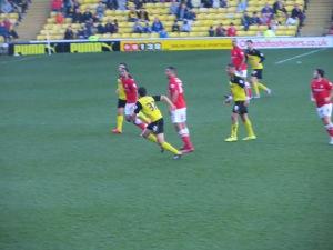 Luke O'Nien on his debut
