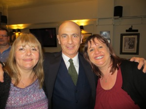 Jacque, Beppe and I