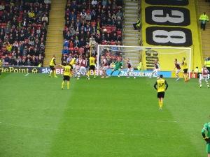 A Watford attack