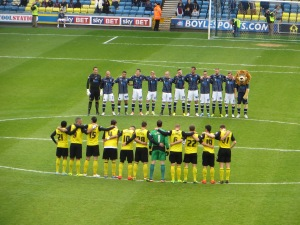 The minute's silence for the 96