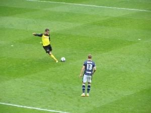 A Tozser free kick