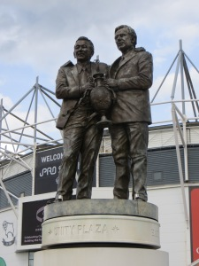 The Clough & Taylor statue, a thing of beauty