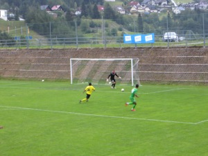 Anya can't quite reach the ball before Filtsolv