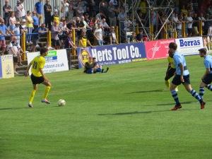 Fabbrini on the ball