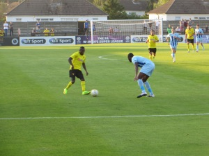 Dyer on the ball