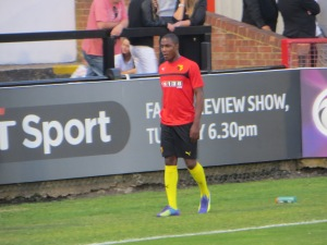 Oghalo warming up