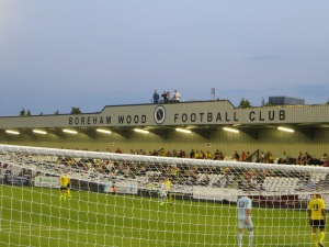 The new stand at Meadow Park