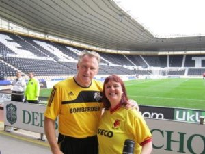 An earlier close encounter with the lovely Johnny Mac