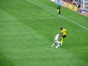 Ighalo on the ball