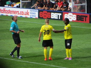 The returning Vydra and new boy Paredes