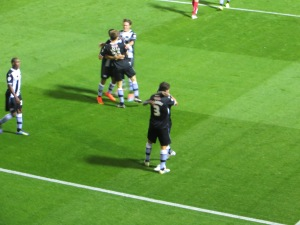 Munari and Hoban both congratulated for the second goal