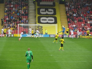 Boruc gathers with Cathcart challenging