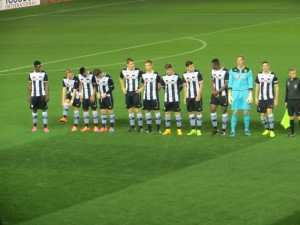 Watford starting line-up