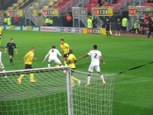 Deeney breaks into the box