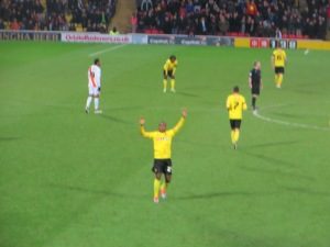 Ighalo greets the Rookery