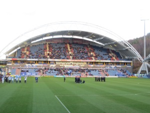 Inside the John Smith's Stadium