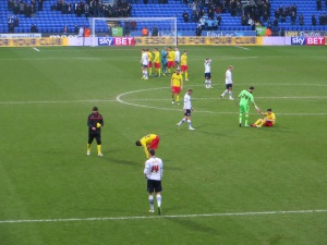 The players had given their all by the final whistle