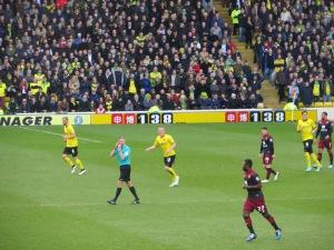 Ben Watson has his eye on the ball