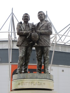 The Clough and Taylor statue is a gorgeous thing