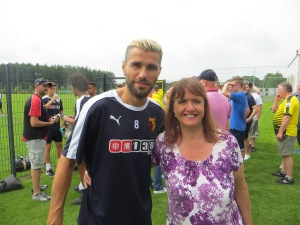 Behrami before I saw him put in a tackle