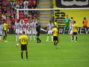 Deeney organizing the attack