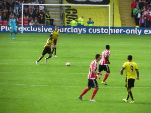 Capoue on the ball