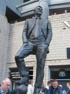 The statue of Bobby Robson