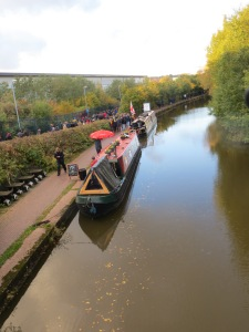 The oatcake and beer barges