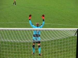 Gomes in goal