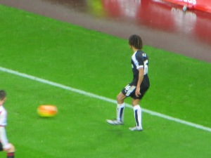 Ake on the ball
