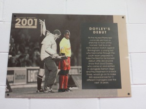 Good luck to Watford legend, Doyley