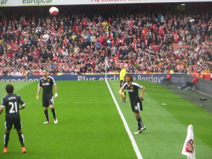 Ake takes a throw