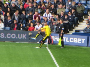 The Guedioura corner that led to the goal