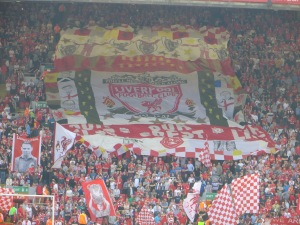 The Kop pre-game