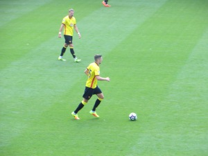 Cathcart on the ball
