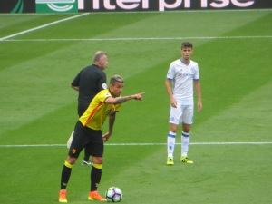 Behrami lining up a free kick