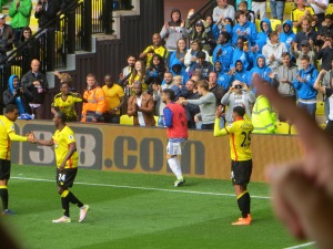Goal Machine Capoue after scoring