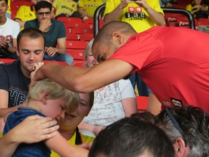 Guedioura makes amends