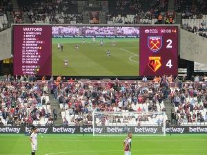 The final score!