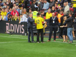 Watford legends Jackett and Page