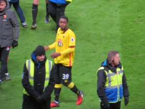 Folivi leaves the pitch after his debut